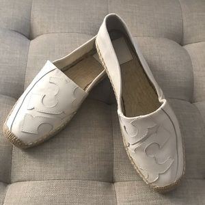 Tory Burch Espadrille Ivory Size 8.5
